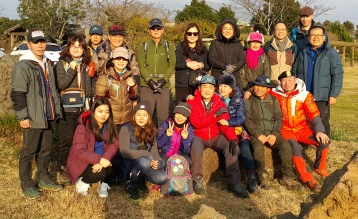 2016-01-Jeju-Olle-Trail-Clean Olle-Route11-Final Ending Group Photo