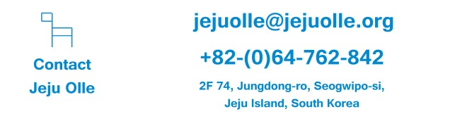 Contact Jeju Olle Trail Official