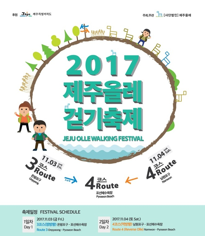 Web Site Map: Jeju Olle Trail Official English Guide